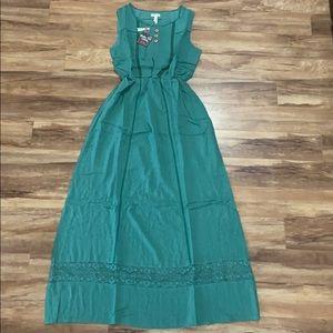 Matilda Jane Green Woman's Maxi dress